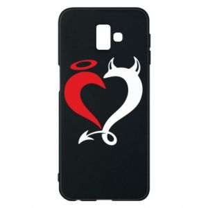Etui na Samsung J6 Plus 2018 Heart of satan
