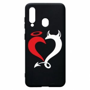 Etui na Samsung A60 Heart of satan