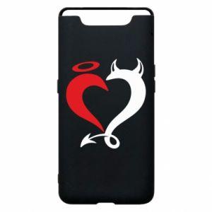 Etui na Samsung A80 Heart of satan