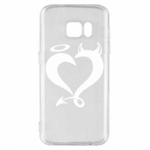 Etui na Samsung S7 Heart of satan