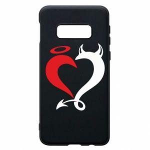 Etui na Samsung S10e Heart of satan