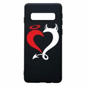 Etui na Samsung S10 Heart of satan