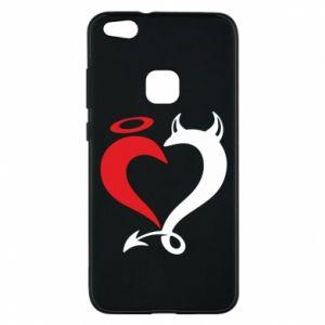 Etui na Huawei P10 Lite Heart of satan