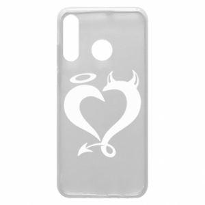 Etui na Huawei P30 Lite Heart of satan