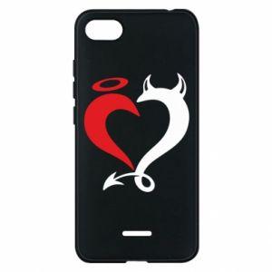 Etui na Xiaomi Redmi 6A Heart of satan