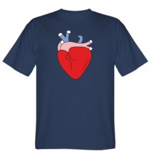 T-shirt Heart with vessels