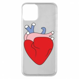Phone case for iPhone 11 Heart with vessels - PrintSalon