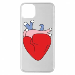 Phone case for iPhone 11 Pro Max Heart with vessels - PrintSalon