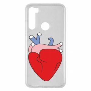 Etui na Xiaomi Redmi Note 8 Heart with vessels