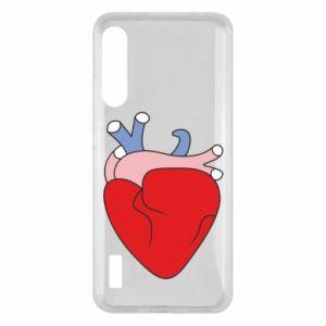 Etui na Xiaomi Mi A3 Heart with vessels