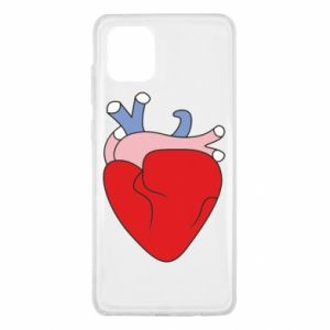 Etui na Samsung Note 10 Lite Heart with vessels