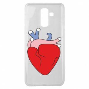 Etui na Samsung J8 2018 Heart with vessels
