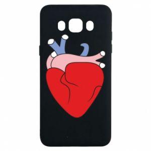 Etui na Samsung J7 2016 Heart with vessels