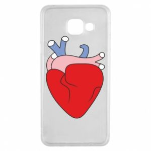 Etui na Samsung A3 2016 Heart with vessels