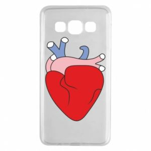 Etui na Samsung A3 2015 Heart with vessels