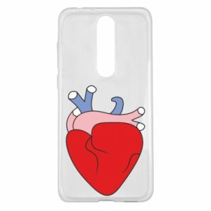 Etui na Nokia 5.1 Plus Heart with vessels