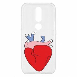 Etui na Nokia 4.2 Heart with vessels