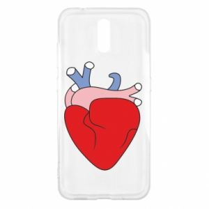 Etui na Nokia 2.3 Heart with vessels