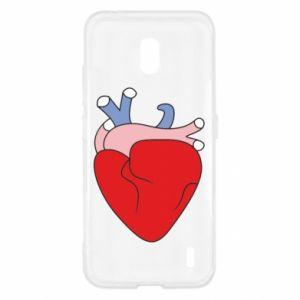 Etui na Nokia 2.2 Heart with vessels