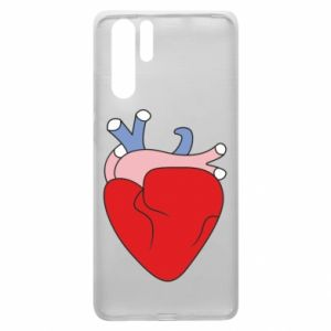 Etui na Huawei P30 Pro Heart with vessels
