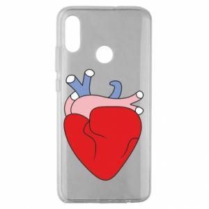Etui na Huawei Honor 10 Lite Heart with vessels