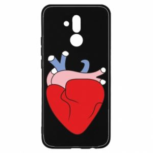 Etui na Huawei Mate 20 Lite Heart with vessels