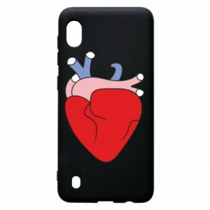 Etui na Samsung A10 Heart with vessels