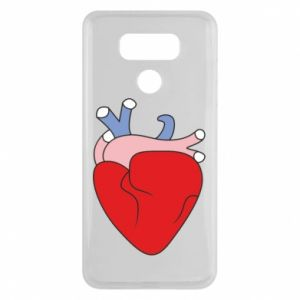 Etui na LG G6 Heart with vessels