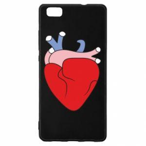 Etui na Huawei P 8 Lite Heart with vessels