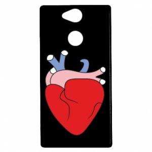 Etui na Sony Xperia XA2 Heart with vessels