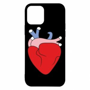 Etui na iPhone 12/12 Pro Heart with vessels