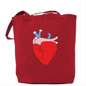 Bag Heart with vessels