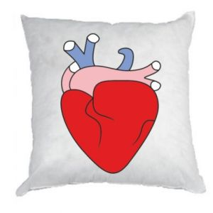 Pillow Heart with vessels