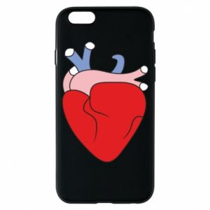 Phone case for iPhone 6/6S Heart with vessels - PrintSalon