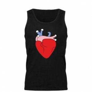 Men's t-shirt Heart with vessels - PrintSalon