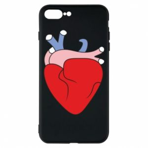 Phone case for iPhone 7 Plus Heart with vessels - PrintSalon