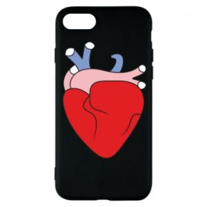 Phone case for iPhone 8 Heart with vessels - PrintSalon