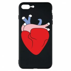 Phone case for iPhone 8 Plus Heart with vessels - PrintSalon