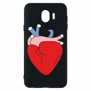 Phone case for Samsung J4 Heart with vessels