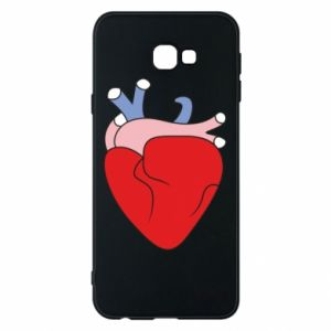 Phone case for Samsung J4 Plus 2018 Heart with vessels
