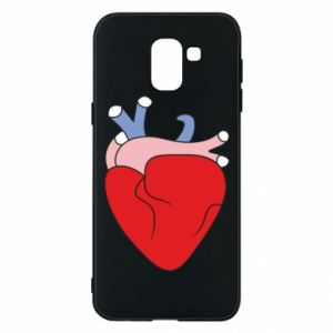 Phone case for Samsung J6 Heart with vessels