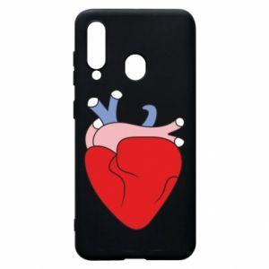 Phone case for Samsung A60 Heart with vessels - PrintSalon