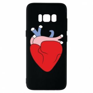 Phone case for Samsung S8 Heart with vessels