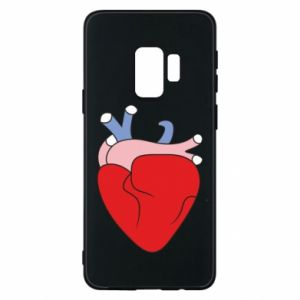 Phone case for Samsung S9 Heart with vessels - PrintSalon