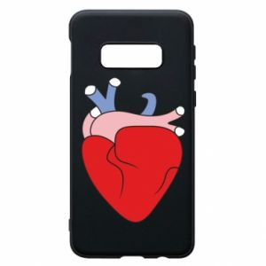 Phone case for Samsung S10e Heart with vessels