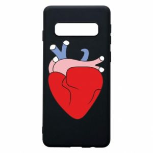 Phone case for Samsung S10 Heart with vessels - PrintSalon