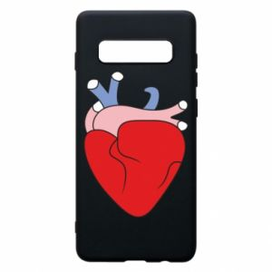 Phone case for Samsung S10+ Heart with vessels - PrintSalon
