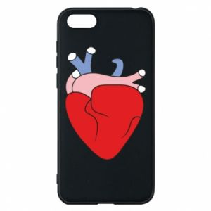 Phone case for Huawei Y5 2018 Heart with vessels