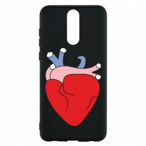 Phone case for Huawei Mate 10 Lite Heart with vessels - PrintSalon