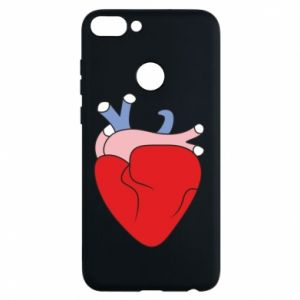 Phone case for Huawei P Smart Heart with vessels - PrintSalon